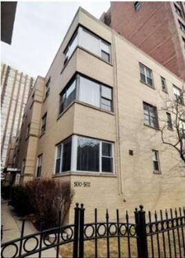 502 W Roscoe Unit 3S, Chicago, IL 60657 Lakeview