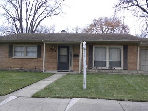 920 Pebble, Wheeling, IL 60090