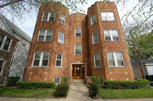 4815 N Oakley Unit 3, Chicago, IL 60625 Lincoln Square