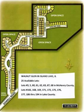 Lots Walnut Glen, Island Lake, IL 60042
