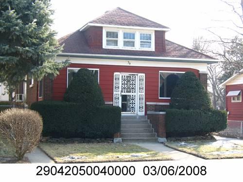 34 E 138th, Riverdale, IL 60827