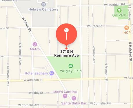 3710 N Kenmore, Chicago, IL 60613 Lakeview