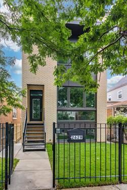 1853 N Fairfield, Chicago, IL 60647