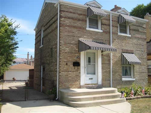 5241 N Canfield, Chicago, IL 60656 Norwood Park