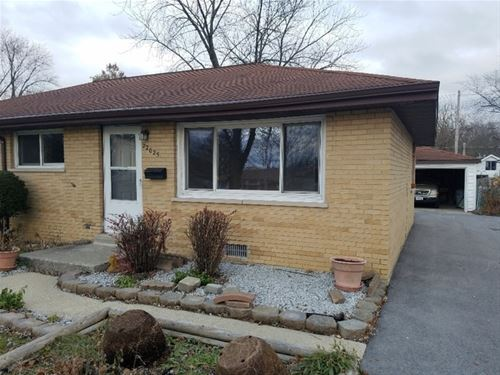 22025 Ridgeway, Richton Park, IL 60471