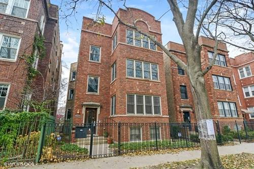 5940 N Paulina Unit 3, Chicago, IL 60660 Edgewater