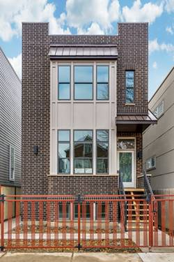 2062 N Bingham, Chicago, IL 60647 Logan Square