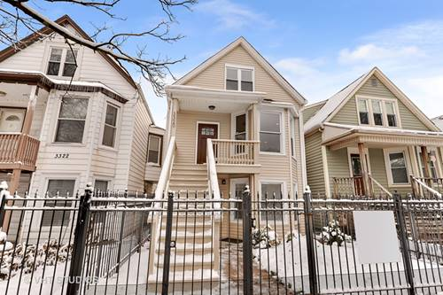 3320 W Warner, Chicago, IL 60618