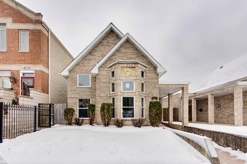 4527 S Forrestville, Chicago, IL 60653