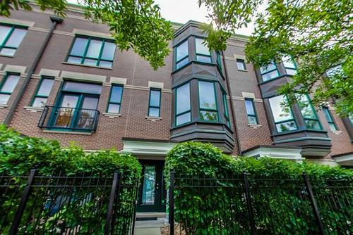 1217 N Sedgwick, Chicago, IL 60610 Old Town