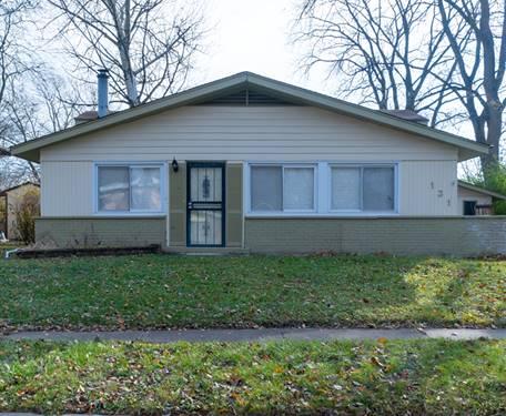 131 Wilson, Park Forest, IL 60466