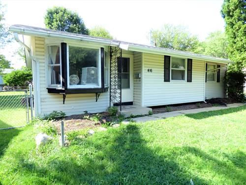 416 Amarillo, Carpentersville, IL 60110