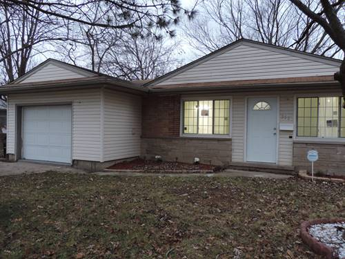 352 Wildwood, Park Forest, IL 60466