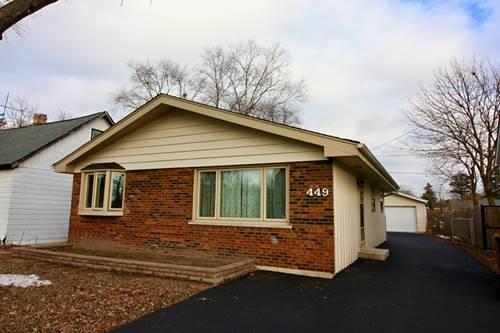 449 N Walnut, Wood Dale, IL 60191