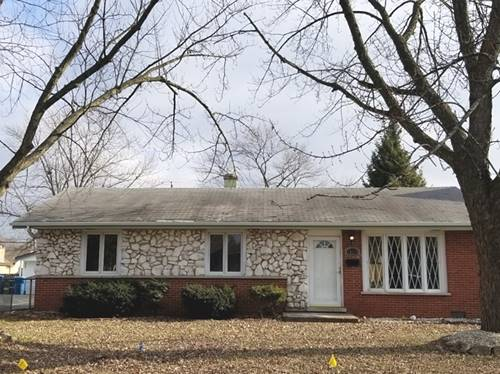 13119 Forestview, Crestwood, IL 60418