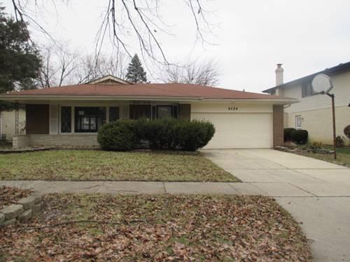 4124 Oakwood, Matteson, IL 60443