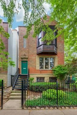 1714 W Huron, Chicago, IL 60622 Noble Square