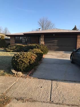 6232 W 157, Oak Forest, IL 60452