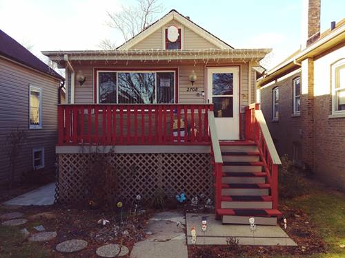 2708 N Mcvicker, Chicago, IL 60639 Belmont Cragin