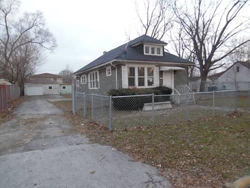 14760 S Cleveland, Posen, IL 60469