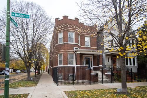 3534 W Belden, Chicago, IL 60647 Logan Square