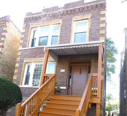 3138 N Ridgeway, Chicago, IL 60618 Avondale
