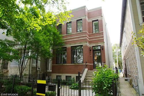 2023 W Melrose, Chicago, IL 60618 Roscoe Village