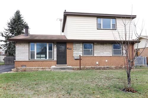 12808 W Playfield, Crestwood, IL 60418