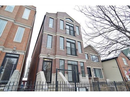 2423 W Cortland Unit 2, Chicago, IL 60647