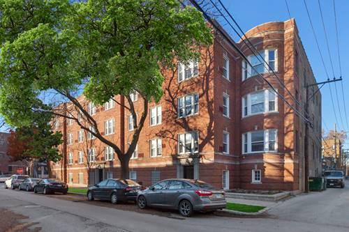 1946 W Patterson Unit 3, Chicago, IL 60613 Northcenter