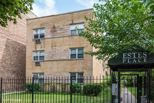 1715 W Estes Unit 3S, Chicago, IL 60626