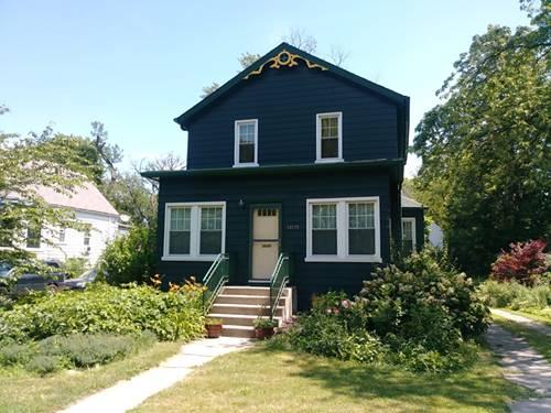 10725 S Longwood, Chicago, IL 60643 Morgan Park