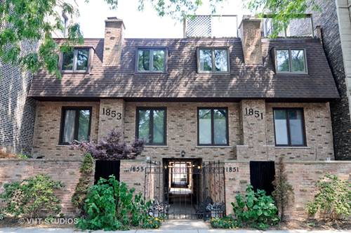 1853 N Cleveland Unit H, Chicago, IL 60614 Lincoln Park