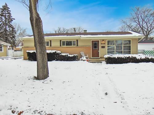 636 W Pleasant, Villa Park, IL 60181