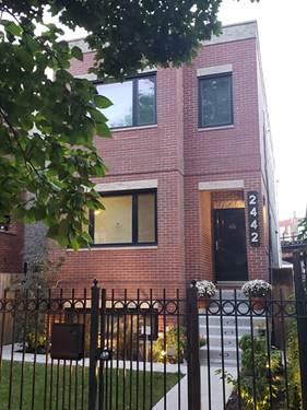 2442 W Homer, Chicago, IL 60647