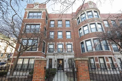 4121 N Sheridan Unit 3S, Chicago, IL 60613 Uptown