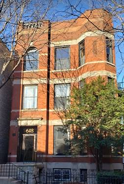 648 W Oakdale Unit GF, Chicago, IL 60657 Lakeview