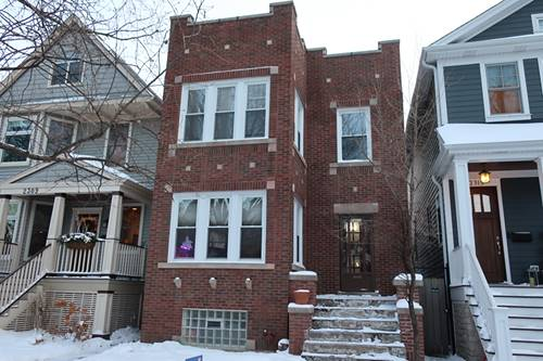 2311 W Cullom, Chicago, IL 60618 North Center