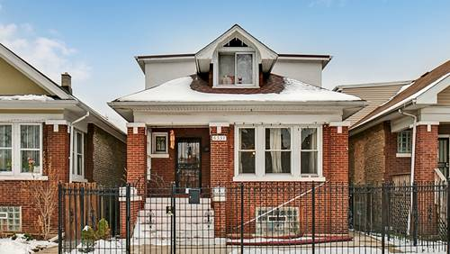 6337 S Francisco, Chicago, IL 60629 Marquette Park