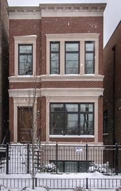 1726 N Wolcott, Chicago, IL 60622 Bucktown