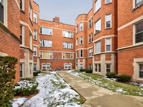 1620 W Columbia Unit 2S, Chicago, IL 60626 Rogers Park