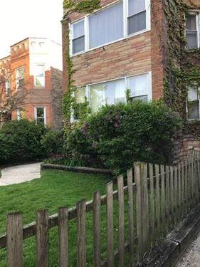 1224 W Lunt, Chicago, IL 60626 Rogers Park