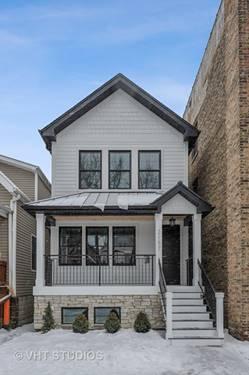 2157 W Belle Plaine, Chicago, IL 60618 North Center