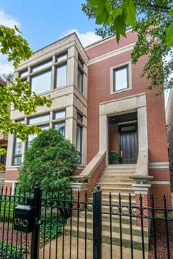 1240 W George, Chicago, IL 60657 Lakeview