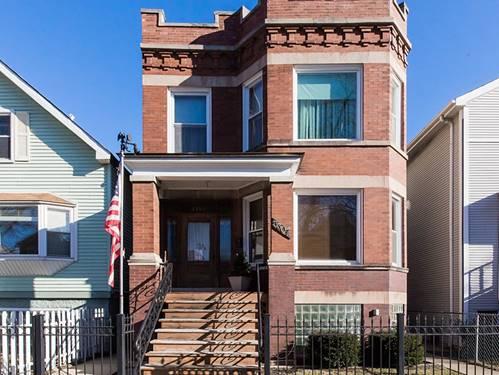 3307 N Seeley, Chicago, IL 60618 Roscoe Village