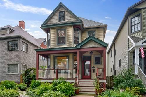 1833 W Berenice, Chicago, IL 60613 North Center