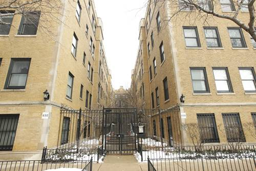 630 W Waveland Unit 2A, Chicago, IL 60613 Lakeview