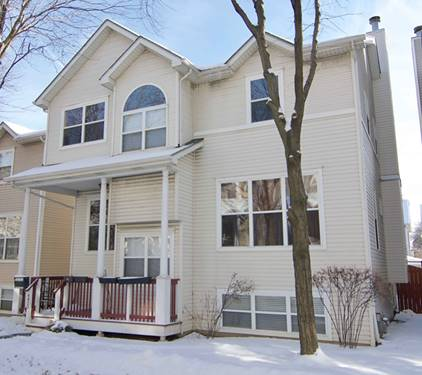 4453 W Hutchinson, Chicago, IL 60641
