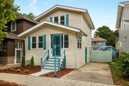 854 Carpenter, Oak Park, IL 60304