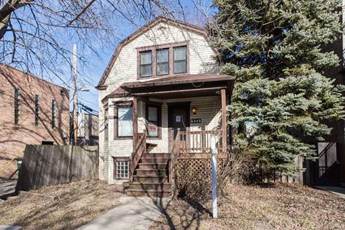 4343 N Francisco, Chicago, IL 60618 Irving Park